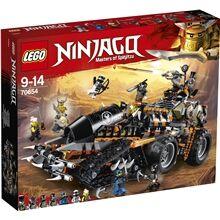Lego 70654 LEGO Ninjago Dieselnautti