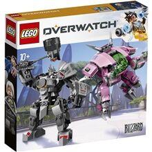 Lego 75973  Overwatch D.Va ja Reinhardt