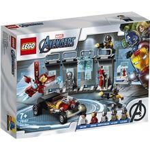 Lego 76167  Super Heroes Iron Manin asevarasto
