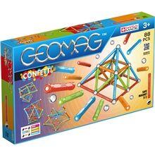 Geomag Confetti 88 osaa