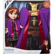 Jakks Pacific Frozen 2 Toddler Doll Anna + Mekko