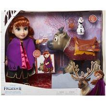 Jakks Pacific Frozen 2 Travel Doll Anna + Sven