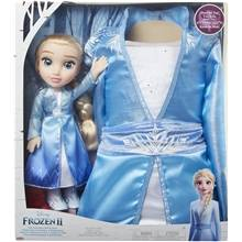 Jakks Pacific Frozen 2 Toddler Doll Elsa + Mekko