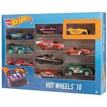 Hot Wheels Cars Giftpack 10 kpl/paketti