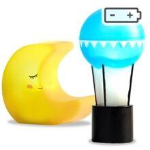 Lundby Lamppusetti Kuu + Ilmap