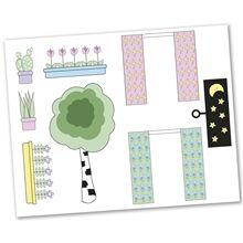 Lundby Sticker Set Kukat