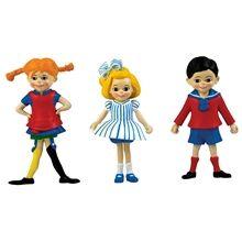 Pippi LÃ¥ngstrump Peppi: Peppi, Tommi & Annika