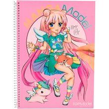 TOPModel Manga Model Värityskirja