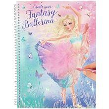 TOPModel Fantasy Model Suunnittelukirja Ballerina