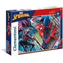 Clementoni Palapeli MAXI 24 palaa Spiderman