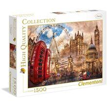 Clementoni Palapeli 1500 palaa Vintage London