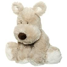 Teddykompaniet Koira Teddy Cream Iso Harmaa