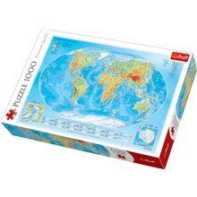 Trefl Palapeli 1000 Palaa Map Of The World