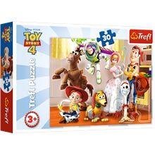 Trefl Palapeli 30 Palaa Toy Story 4 Ready To Play
