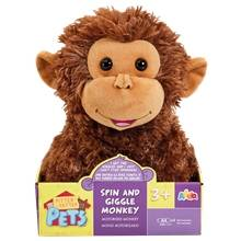 Happy Pets Spin & Giggle Monkey