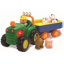 Happy Baby Traktori + Perävaunu