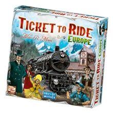 Days of Wonder Ticket to Ride Europe (ruotsinkielinen)