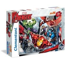 Clementoni Palapeli MAXI 24 palaa The Avengers