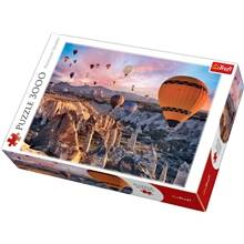 Trefl Palapeli 3000 palaa - Balloons over Cappadocia