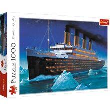 Trefl Palapeli 1000 Palaa Titanic