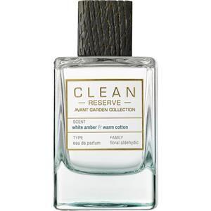 CLEAN Reserve Avant Garden Collection White Amber & Warm Cotton Eau de Parfum Spray 100 ml