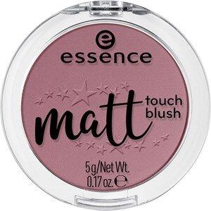 Essence Iho Puuteri ja poskipuna Matt Touch Blush Nr. 10 Peach Me Up! 5 g