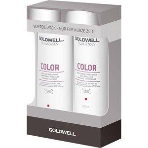 Goldwell Dualsenses Color Set Color Brilliance Shampoo 250 ml + Color Brilliance Conditioner 200 ml 1 Stk.