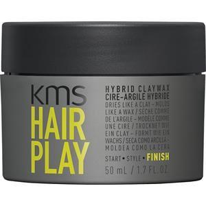 KMS Hiukset Hairplay Hybrid Claywax 50 ml