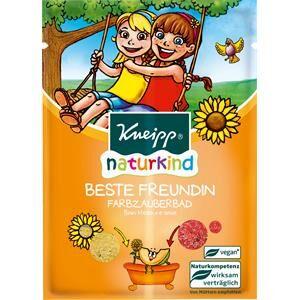 Kneipp Kylpyaine Lasten kylpytuotteet Naturkind Värillinen taikakylpy Parhaat ystävät 2 x 20 g