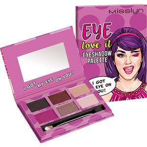 Misslyn Looks Festival Vibes Eye Love It Eyeshadow Palette Nr. 2 I Got My Eye On You! 13,34 g