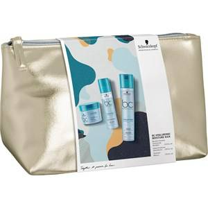 Schwarzkopf BC Bonacure Hyaluronic Moisture Kick Gift Set Micellar Shampoo 250 ml + Spray Conditioner 200 ml + Treatment 200 ml + Bag 1 Stk.