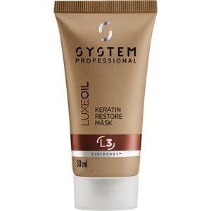 System Professional Fibra Luxe Oil Keratin Restore Mask L3 200 ml