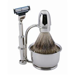 ERBE Shaving Shop Parranajosetit Partahöyläsetti Gillette Mach3, 4-osainen 1 Stk.