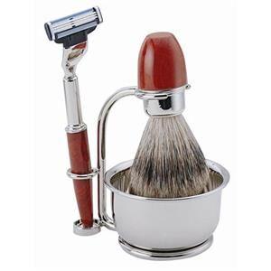 ERBE Shaving Shop Parranajosetit Partahöyläsetti pahka, Gillette Mach3, 4-osainen 1 Stk.