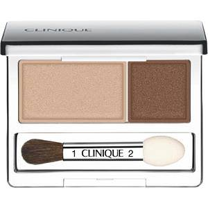 Clinique Meikit Silmät All About Shadow Duo Nr. 01 Like Mink New 2,20 g