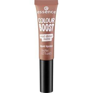 Essence Huulet Huulipuna ja -kiilto Colour Boost Mad About Matte Liquid Lipstick Nr. 09 Magnetic Gloom 8 ml