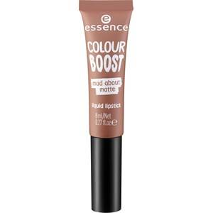 Essence Huulet Huulipuna ja -kiilto Colour Boost Mad About Matte Liquid Lipstick Nr. 02 I Love Your Me Neither 8 ml