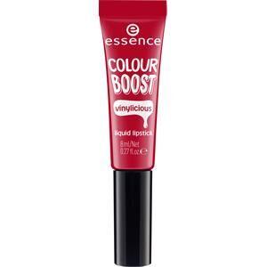 Essence Huulet Huulipuna ja -kiilto Colour Boost Vinylicious Liquid Lipstick Nr. 04 Woody Rosy 8 ml