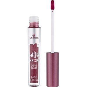 Essence Huulet Huulipuna ja -kiilto Melted Chrome Liquid Lipstick Nr. 01 Sweet Tin 2,30 ml