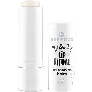 Essence Huulet Huulipuna ja -kiilto My Beauty Lip Ritual Nourishing Balm 01 4,80 g