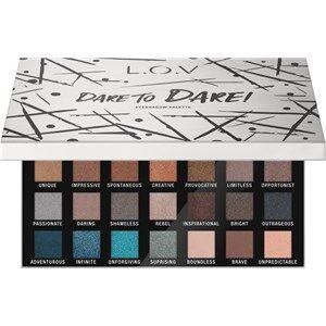 L.O.V Meikit Silmät Dare To Dare! Eyeshadow Palette 56 g