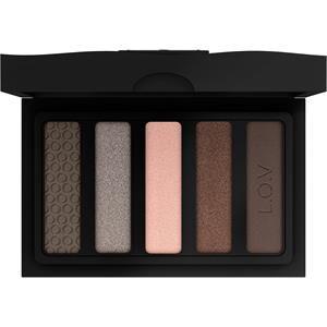 L.O.V Meikit Silmät Eyevotion Luxurious Eyeshadow Palette Nr. 710 Devoted To Roses 8 g