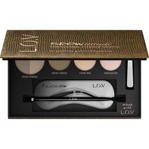 L.O.V Meikit Kulmakarvat Browttitude Professional Eyebrow Palette Nr. 500 Blonde Perfection 5 g