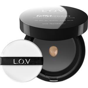 L.O.V Meikit Iho Extraordinary Perfecting Fluid Foundation Nr. 010 Ivory Elegance 12 ml