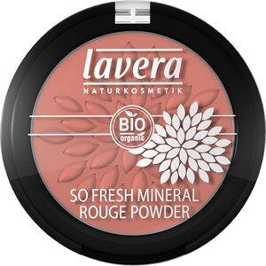Lavera Meikit Kasvot So Fresh Mineral Rouge Powder Nr. 07 Columbine Pink 4,50 g