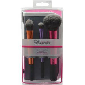 Real Techniques Original Collection Base Technique Essentials Set Essential Foundation Brush + Domed Shadow Brush + Multitask Brush + Drying Stand 1 Stk.