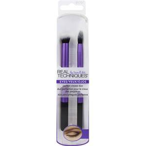 Real Techniques Original Collection Eyes Perfect Crease Duo Crease Prep Brush + Defining Crease Brush 1 Stk.
