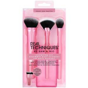 Real Techniques Original Collection Finish Finish Sculpting Set Sculpting Brush + Fan Brush + Setting Brush + Cup 1 Stk.