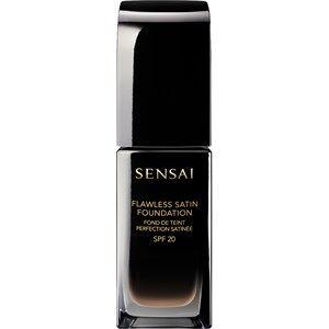 SENSAI Meikit Foundations Flawless Satin Foundation SPF 20 FS 206 Brown Beige 30 ml