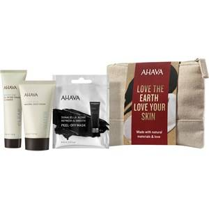 Ahava Kasvohoito Time To Clear Gift Set Time To Clear All In One Toning Cleanser 30 ml + Deadsea Water Mineral Hand Cream 40 ml + Dunaliella Algae Refresh & Smooth Peel-Off Mask 8 ml 1 Stk.